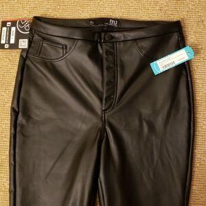 Bnwt BBJ faux leather pants